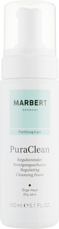 Spumă de curățare pentru față - Marbert Pura Clean Regulating Cleansing Foam — Imagine N2