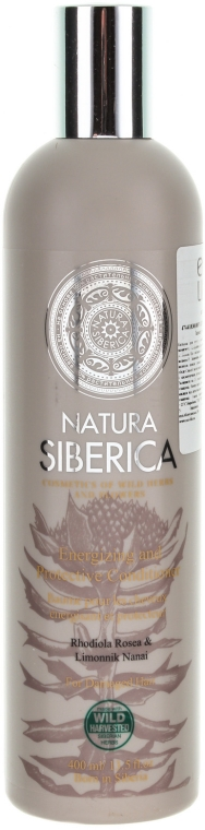 """Balsam pentru protecția părului deteriorat și slăbit """"Protecție și energie"""" - Natura Siberica — Imagine N1"""