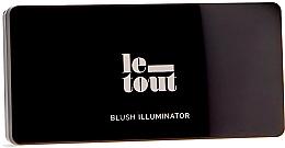 Parfumuri și produse cosmetice Paletă de machiaj - Le Tout Blush Illuminator