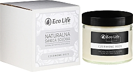 """Parfumuri și produse cosmetice Lumânare aromatică """"Trandafir roșu"""" - Eco Life Candles"""