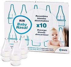 Parfumuri și produse cosmetice Duze de rezervă pentru aspirator nazal pentru copii - Kin Baby Nasal
