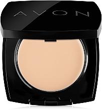 Parfumuri și produse cosmetice Pudră-cremă compactă pentru față - Avon True Cream-Powder Compact