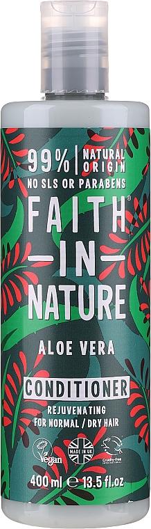 """Balsam pentru păr normal și uscat """"Aloe Vera"""" - Faith In Nature Aloe Vera Conditioner"""