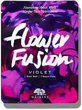 Parfumuri și produse cosmetice Mască nutritivă din țesătură cu Violă - Origins Flower Fusion Violet Nourishing Sheet Mask