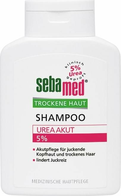 Șampon cu uree 5% pentru păr uscat - Sebamed Dry Skin Hair Shampoo 5% Urea — Imagine N1