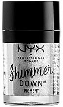 Parfumuri și produse cosmetice Pigment pentru ochi - NYX Professional Make Up Shimmer Down Pigment