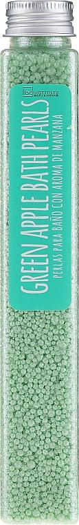 "Sare de baie ""Măr verde"" - IDC Institute Bath Pearls Green Apple — Imagine N1"