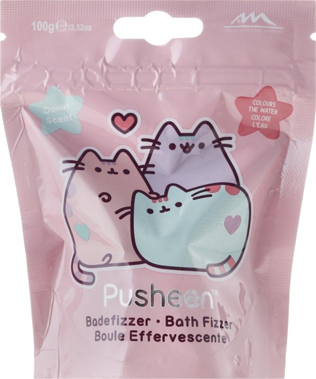 Bilă efervescentă pentru baie - The Beauty Care Company Pusheen Bath Fizzer