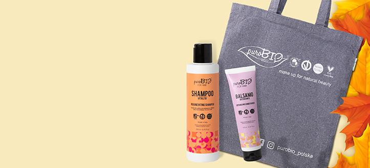 La achiziționarea produselor PuroBio Cosmetics începând cu suma de 87 RON, primești cadou o geantă-shopper