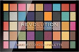 Parfumuri și produse cosmetice Paletă farduri de ochi, 45 nuanțe - Makeup Revolution Maxi Reloaded Palette