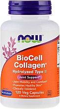 "Parfumuri și produse cosmetice Fiole ""Colagen"" - Now Foods BioCell Collagen Hydrolyzed Type II"