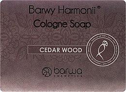 Parfumuri și produse cosmetice Săpun cu extract de cedru - Barwa Harmony Cedar Wood Soap