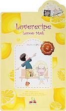 Parfumuri și produse cosmetice Mască cu extracat de lămâie pentru față - Sally's Box Loverecipe Lemon Mask