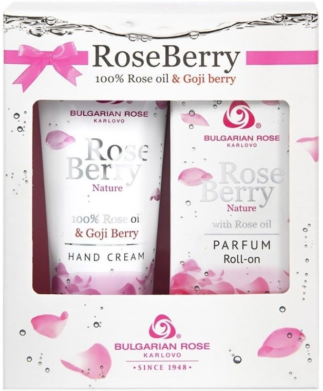 Bulgarian Rose Rose Berry - Set (parf/roll/9ml + h/cr/75ml) — Imagine N1