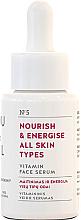 Parfumuri și produse cosmetice Ser nutritiv pentru toate tipurile de piele - You & Oil Vitamin Nourish & Energise Serum
