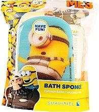 "Parfumuri și produse cosmetice Burete de baie ""Minions"" pentru copii, galben, prizonierul Karl - Suavipiel Minnioins Bath Sponge"