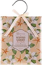 Parfumuri și produse cosmetice Pliculeț aromatic - IDC Institute Sweet Vanilla Scented Garden Wardrobe Sachet