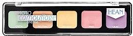 Parfumuri și produse cosmetice Paletă concealer pentru față - Hean Photo Camouflage Cream Concealer Palette