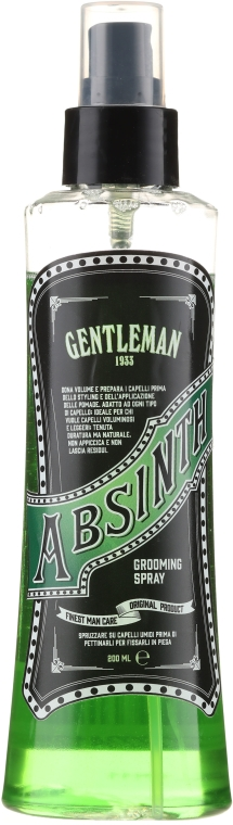 Spray pentru păr - Gentleman Absinth Grooming Spray — Imagine N1