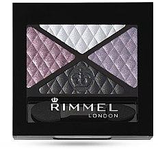Parfumuri și produse cosmetice Fard de pleoape - Rimmel Glam Eyes Quad EyeShadow