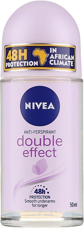 Deodorant roll-on antiperspirant - Nivea Double Effect Deodorant Roll-On — Imagine N2