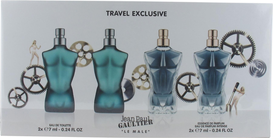 Jean Paul Gaultier Le Male - Set (edt/7ml + edt/7ml + edp/7ml + edp/7ml) — Imagine N2