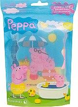 "Parfumuri și produse cosmetice Burete de baie pentru copii ""Peppa Pig"", Pig Family - Suavipiel Peppa Pig Bath Sponge"