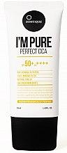 Parfumuri și produse cosmetice Cremă de protecție solară pentru piele sensibilă - Suntique I'm Pure Perfect Cica SPF 50+ / PA +++