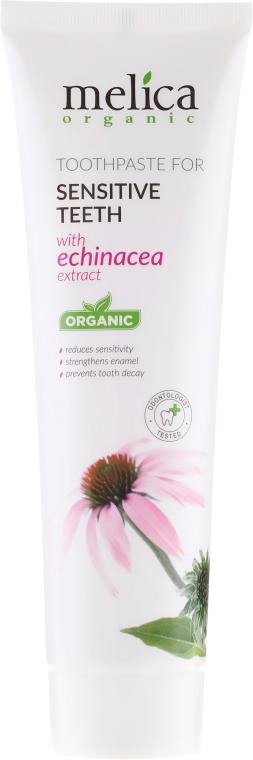 Pastă de dinți cu extract de echinacea - Melica Organic  — Imagine N2