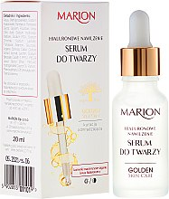 Parfumuri și produse cosmetice Ser pentru față, gât și decolteu - Marion Golden Skin Care