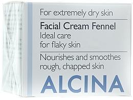 Parfumuri și produse cosmetice Cremă de față - Alcina T Facial Cream Fennel