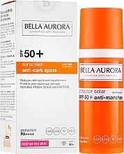 Parfumuri și produse cosmetice Fluid cu protecție solară pentru față - Bella Aurora Anti-Manchas Treatment SPF50+