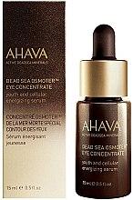 Parfumuri și produse cosmetice Ser pentru zona din jurul ochilor - Ahava Active DeadSea Minerals Dead Sea Osmoter Eye Concentrate