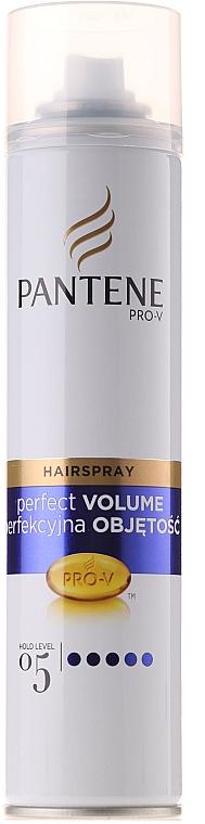 Lac de păr cu fixare foarte puternică - Pantene Pro-V Volumen Pur Hair Spray