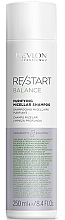 Șampon pentru scalpul sensibil - Revlon Professional Restart Balance Purifying Micellar Shampoo — Imagine N1