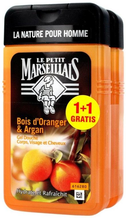 Set - Le Petit Marseillais Orange Tree and Argan Shampoo Shower Gel (shm/gel/2x250ml)