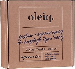 Parfumuri și produse cosmetice Set - Oleiq (hydrolat/100ml + oil/100ml + oil/30ml)