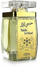 Parfumuri și produse cosmetice Nabeel Habibi Lil Abad - Apă de parfum