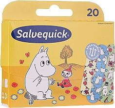 Parfumuri și produse cosmetice Plasture pentru copii - Salvequick Moominki