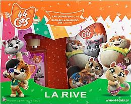 Parfumuri și produse cosmetice La Rive 44 Cats - Set (edp/50ml+gel/sh/250ml)