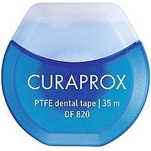 Parfumuri și produse cosmetice Ață dentară din teflon cu clorhexidină DF 820, 35m - Curaprox