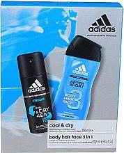 Parfumuri și produse cosmetice Set - Adidas After Sport (deo/150ml + sh/gel/250ml)
