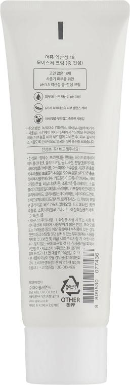 Cremă hidratantă pentru ten uscat și normal - A'pieu 18 Cream Moisture Cream — Imagine N2