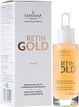 Parfumuri și produse cosmetice Bio Concentrat pentru față - Farmona Retin Gold Concentrate