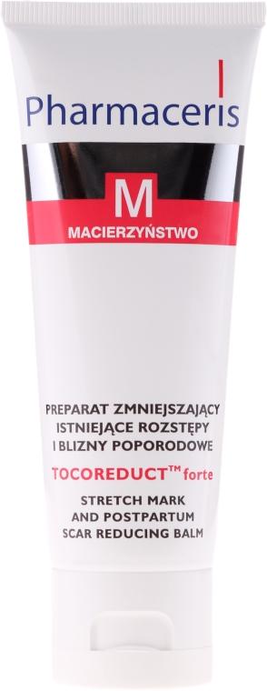 Balsam pentru corp împotriva vergeturilor - Pharmaceris M Tocoreduct Forte Stretch Mark Reduction Balm — Imagine N2