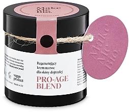 Parfumuri și produse cosmetice Cremă de noapte pentru față cu efect anti-îmbătrânire - Make Me BIO Anti-Aging Night