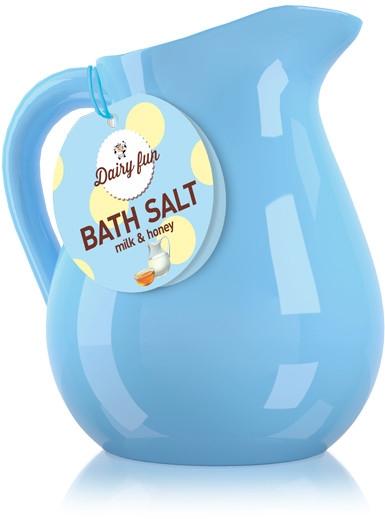 """Sare de baie """"Lapte și miere"""" - Delia Dairy Fun Bath Salt"""