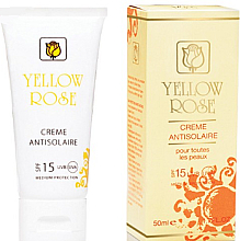 Parfumuri și produse cosmetice Cremă de protecție solară SPF15 - Yellow Rose Creme Antisolaire SPF 15