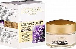 Parfumuri și produse cosmetice Cremă pentru conturul ochilor - L'Oreal Paris Age Specialist Eye Wrinkle Cream 55+