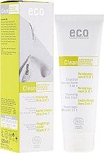 Parfumuri și produse cosmetice Lăptișor de curățare 3 în 1, ceai verde și mirt - Eco Cosmetics